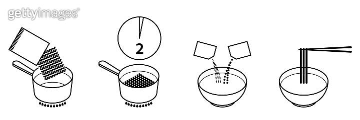 Preparing Noodles