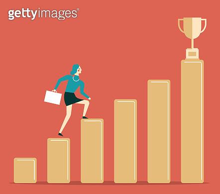 Success - Businesswoman