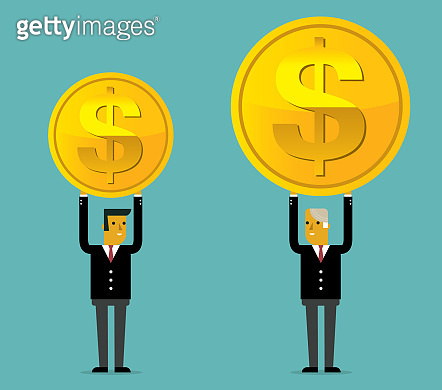 Salary variation - Businessman