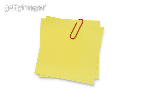 Adhesive Note's - Isolated