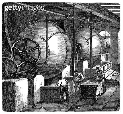 Spherical digester for paper making