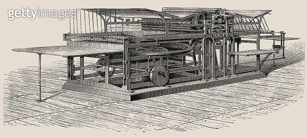 Double printing press