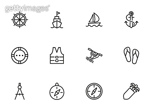 Cruise icons