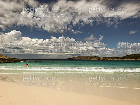 Woman on Austrailian Beach