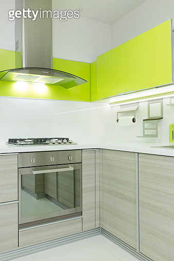 Modern kitchen corner