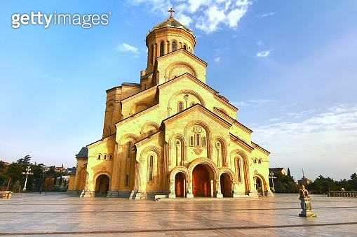 Holy Trinity Cathedral of Tbilisi ,the capital of Georgia