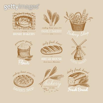 Bakery logos.