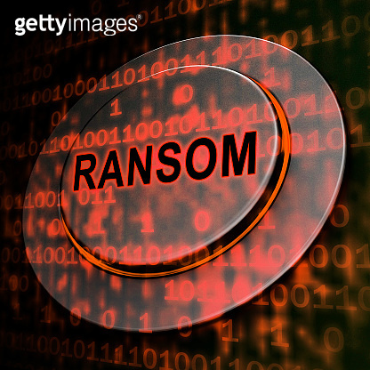 Ransom Computer Hacker Data Extortion 3d Rendering