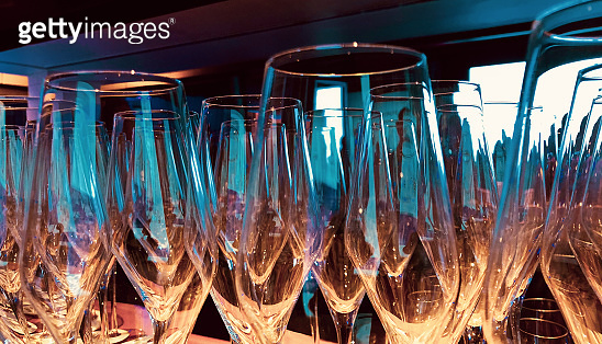 Stack of Wine Glasses