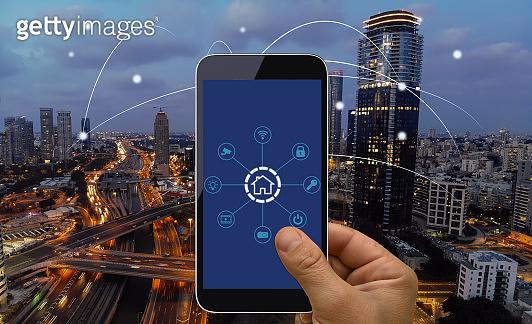 Computer network connection smart city future internet technology