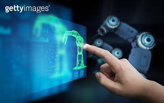 Technician control robot
