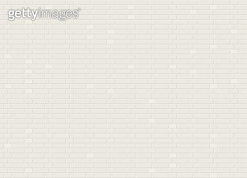 Vector seamless monk bond white brick wall texture