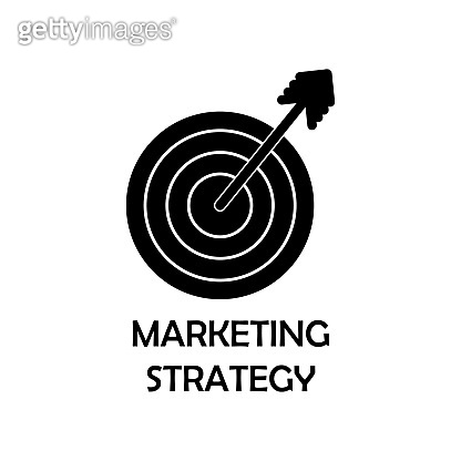 marketing strategy icon. Element of marketing for mobile concept and web apps. Detailed marketing strategy icon can be used for web and mobile. Premium iconmarketing