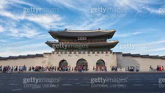 Seoul Gwanghwamun Gate 광화문