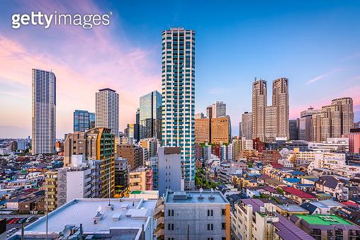 West Shinjuku, Tokyo Cityscape
