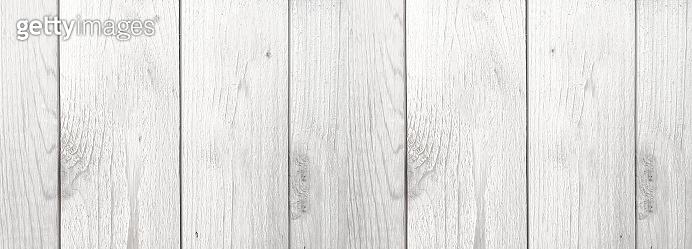 Whitewashed Wood Background
