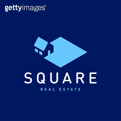 Real estate vector logo design template for corporate identity.