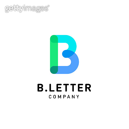Letter B vector logo design template for corporate identity