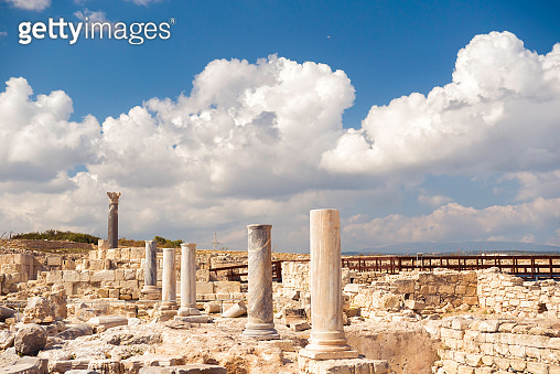 The Agora at Kourion Archaeological Area. Limassol District, Cyprus