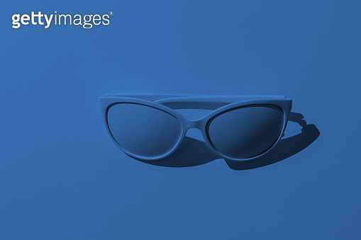 Sunglasses on a background