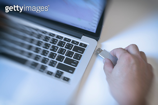 Business Man Working With Laptop, Tablet PC and Mobile Phone