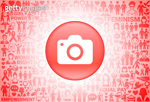 Camera  Girl Power Women's Rights Background