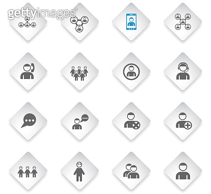 community icon set