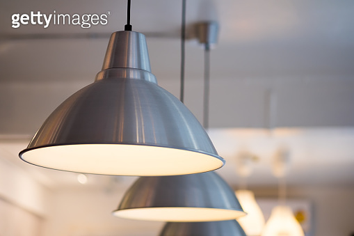 Decorative lamp hanging from the ceiling, modern lamp