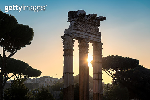 Rome at sunrise, Italy