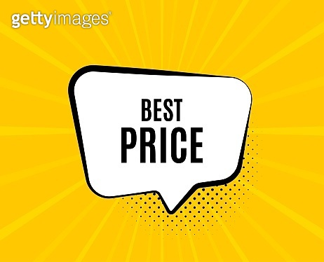 Best Price. Special offer sale sign. Vector