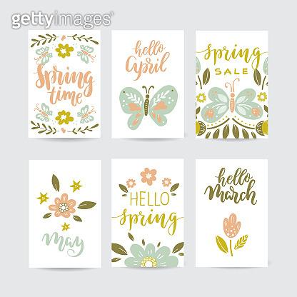 Creative spring cards