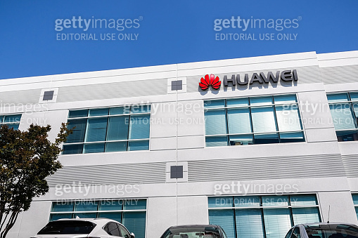 Huawei office building in Silicon Valley
