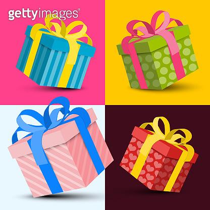 Gift Boxes Vector Design