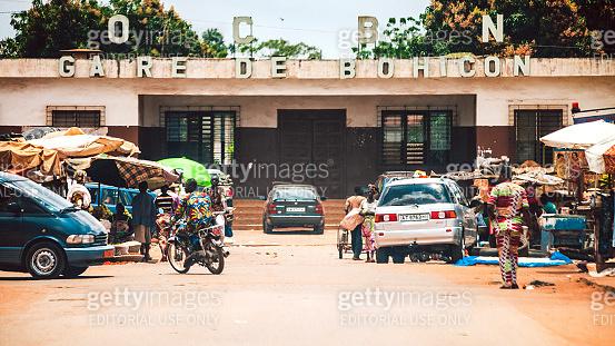 African town - Bohicon, Benin