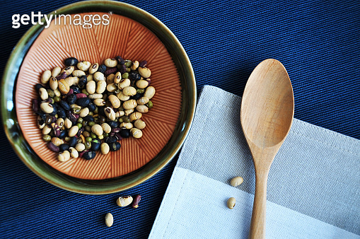 Above of Healthy Beans Bowl