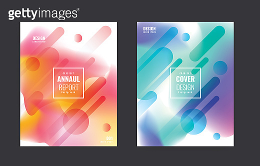 Simple Modern Covers Template Design.