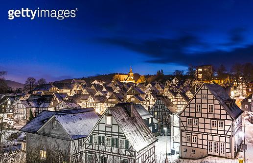 Wonderful winter village