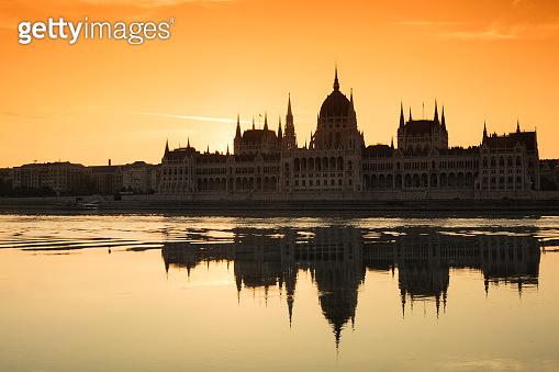 Hungarian Parliament Building. Budapest, Hungary.