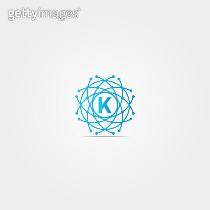 Alphabet technology icon