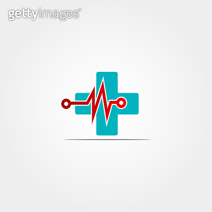 Medical technology icon template