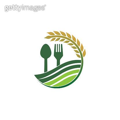Restaurant food icon concept design