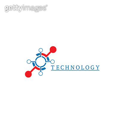 Technology icon template