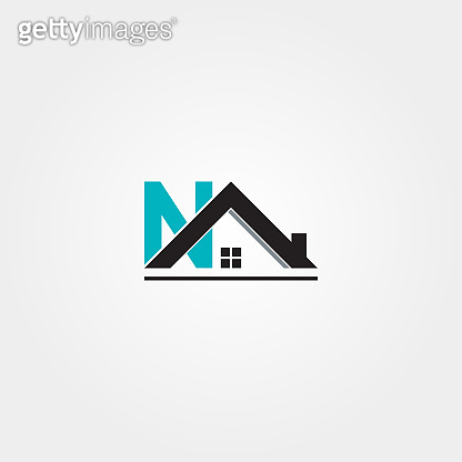 House icon template, building architecture