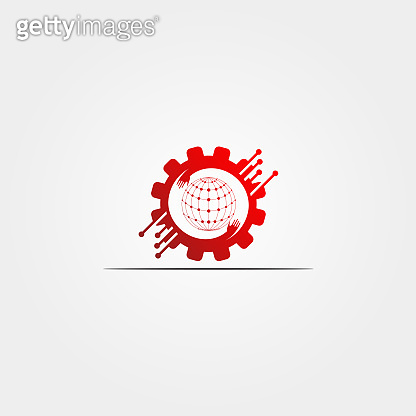 Gear Technology icon template