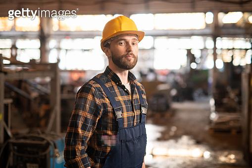 Technician in workwear