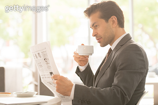 Break for tea and news