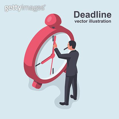 Deadline isometric concept