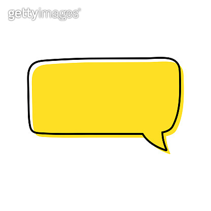 Speech bubbles. Quotes icon vector. Message bubbles chat. Blank retro empty comic bubble. Stickers. Dialog balloons. Vector illustration.