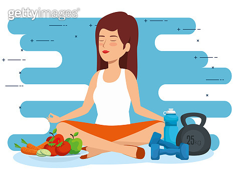 woman relaxation to health lifestyle wellness