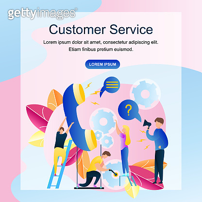 Image Group People Customer Service Online Store